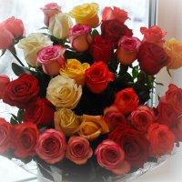 Букет от любимого мужа :: Светлана