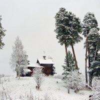 Часовня Рождества Пресвятой Богородицы.Карелия. д. Маньга. :: Николай Тренин