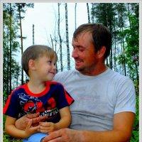 С любимым сыном :: Александр Пригоровский