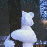снежный мишка :: Наталья Крюкова