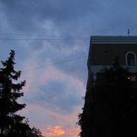 Закат после грозы :: Олег Бережной