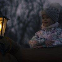 волшебный фонарик :: Ольга Адаменко