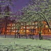 школа утром :: Сергей Кочнев