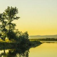 Краса осеннего заката :: юрий Амосов