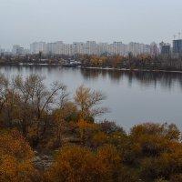 Осень на Днепре :: Дмитрий Гончаренко