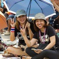 Веселые оппозиционеры, Бангкок, Тайланд :: Елена Шацкова