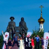 Фотограф за работой. :: Виталий Дарханов