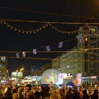 Встреча Олимпийского огня в Новосибирске :: Антон Банков