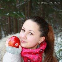 Яблоки в снегу :: Екатерина Малащенкова