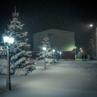 Снежно... :: Владимир Клещёв