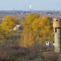 Водонапорная башня :: Леонид Мельник