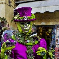 Венеция. Дама в карнавальном костюме. :: Аркадий Беляков