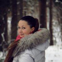 Зимняя прогулка по лесу :: Екатерина Малащенкова