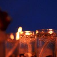 Три свечи в ночи) :: Алина Молчанова