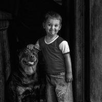 Мальчик и собака :: Serge Aramis