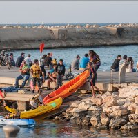 В порту Старого Яфо, Израиль - 4 :: Lmark