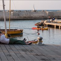 В порту Старого Яфо, Израиль - 1 :: Lmark