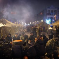 Майдан - гражданское сопротивление в украине. :: Анастасия Кононенко