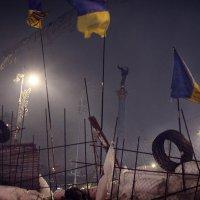 Баррикады на Майдане. :: Анастасия Кононенко