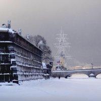 Питерская зима 3 :: Цветков Виктор Васильевич