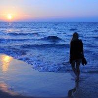 blue sunset :: mihael shwarzman