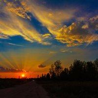 Кубанский закат :: Александр Неустроев
