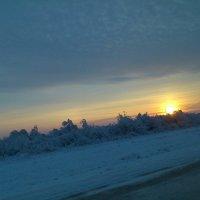 Рассвет в степи :: Лидия Мамаева