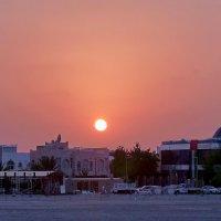 Закат в Персидском заливе :: михаил кибирев