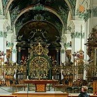 кафедральный собор в Сент-Галлене :: Александр Корчемный