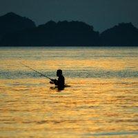 Рыбалка на закате :: Владимир Сковородников