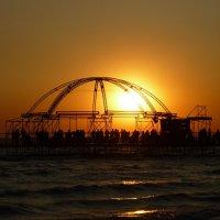 морской танцпол - sunset :: Андрей Козлов