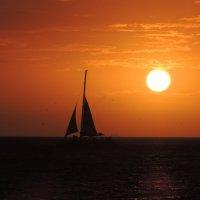 Закат в Aruba :: Anna L