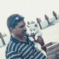 с собакой на службу в храм :: Юрий ефимов