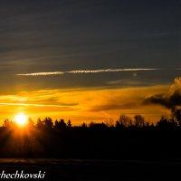 Рассвет перед работой. :: Dmitri_Krzhechkovski Кржечковски