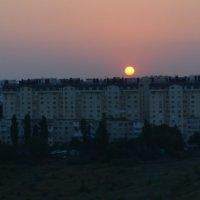 Закат над Кишиневом :: Евгения Пикановская