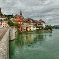 Переход швейцарской границы в городе Лауфенбург :: Boris Alabugin