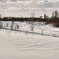 Снег, словно дюны :: Владимир Корольков