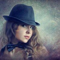 Портрет девушки в шляпе :: Ирина Kачевская
