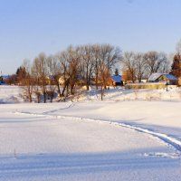 Зимними тропами :: Валерий Шибаев
