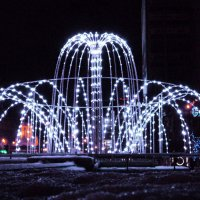 Световой фонтан :: Lady Etoile
