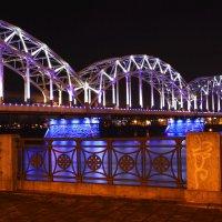 мост в Риге :: Galina Solonova