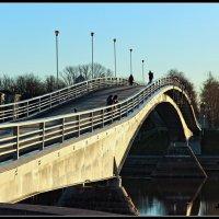 Пешеходный мост через р. Волхов :: Евгений Никифоров