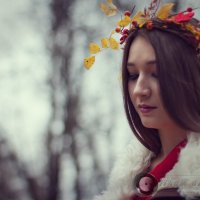 Осенняя дева :: Ильхам Сибгатуллин