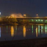 Мост через Кубань (панорама) :: Владимир Бегляров