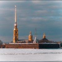 Вид на Петропавловскую крепость (2) :: Сергей В. Комаров