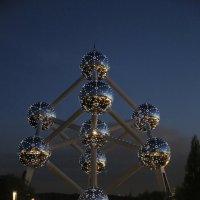 Ато́миум - один из символ Брюсселя :: Ильдар Каримов