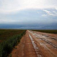 Грейдер после дождя :: Евгений Севостьянов