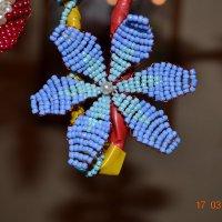 Цветок из бисера :: Юлия Каленюк