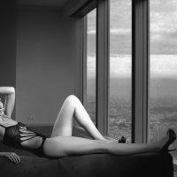 взгляд в окно из моей студии :: сергей коник
