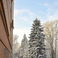 Зима в городе :: юрий Амосов